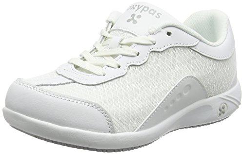 Oxypas Ivy, Women's Work Shoes, White (White - White), 3.5 UK (36 EU)