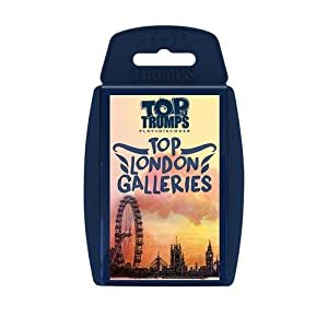 Top Trumps Parte Superior Londres galerías Juego de Cartas