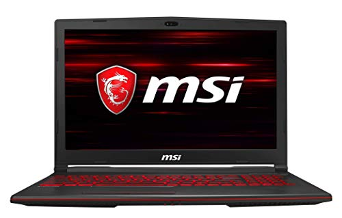 MSI Gaming GL63 9RDS-864IN Intel Core i5-9300H 9th Gen 15.6-inch Gaming Laptop(8GB/512GB NVMe SSD/Windows 10/GTX 1050 Ti, 4GB Graphics/Black/2.22Kg ) 9S7-16P532-864