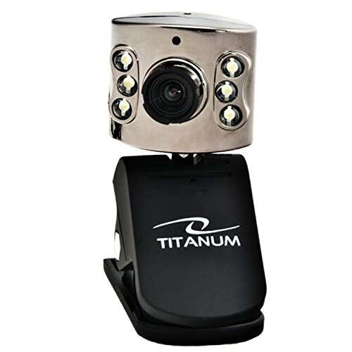 Titanum AMBER USB Webcam mit Mikrofon für Computer/Laptop/Notebook/Playstation 3 -