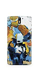 Casenation Abstract OnePlus One Glossy Case