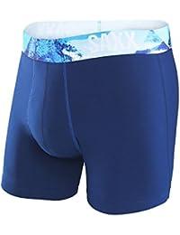 SAXX Men's Fiesta Everyday Boxer Brief Underwear Blue