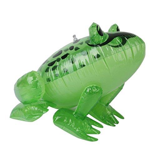 r Frosch Kinder Partyzubehör Blow Up Pool Strand Spielzeug ()