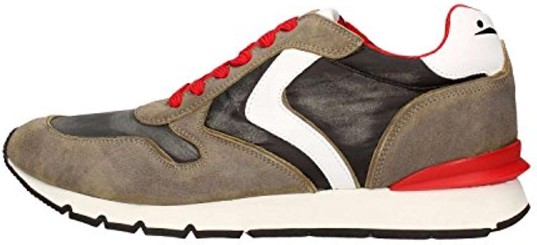 Voile Blanche Liam Race Sneakers in Pelle e Tessuto