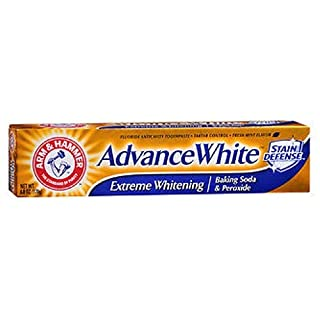 Arm and Hammer Advance White Extreme Whitening Fluoride Toothpaste Clean Mint 6 oz New Packaging!