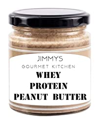 Jimmy's Gourmet Kitchen Buy 2 get 1 Free Peanut Butter Unsweetened 100% Isolate Whey Protein (410gX3)