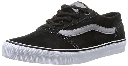 Vans W Milton (Mte), Women's Sneakers, Black (Mte Black/White), 1.5 UK (34.5 EU)