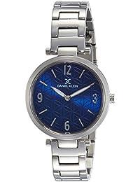 Daniel Klein Analog Blue Dial Women's Watch-DK11471-4