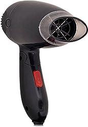 HomeFast Conor Hair Dryer Salon style Foldable handle 2 speed Heating (Black)