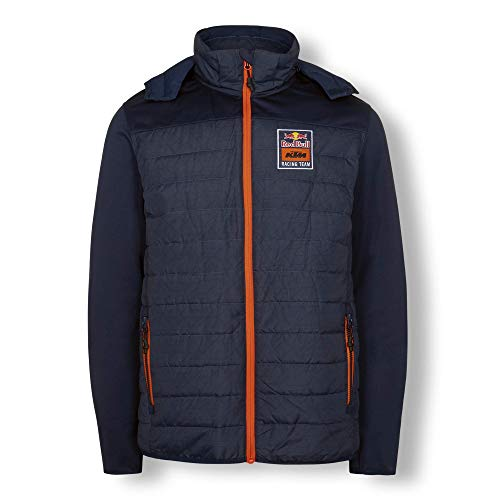 Red Bull KTM Mosaic Hybrid Giacca, Blu Uomo X-Large Cappotto, KTM Factory Racing Abbigliamento & Merchandising Ufficiale
