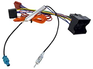 Connects 2 Harness Adapter CT20VX04 Vauxhall Astra H / Corsa C / Vectra C with Fakra antenna and phantom
