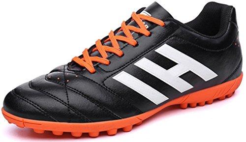 HYLM Scarpe da calcio Scarpe sportive Nuove scarpe da calcio per la formazione del calcio Scarpe sportive all'aperto 610nailblack