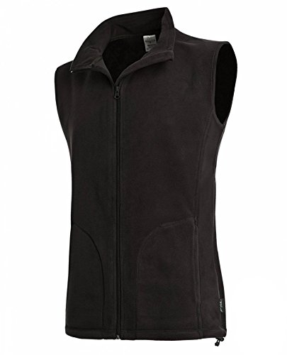 Active Fleece Vest Black Opal