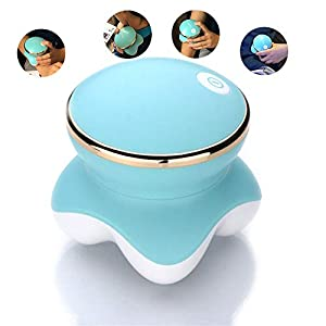 LIJJY Elektroschock-Massagegerät Mini Lade Multifunktionale USB Hals Kopf Tragbare Massage Instrument Geschenk