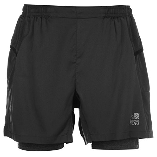 karrimor-mens-xlite-2in1-running-shorts-breathable-pants-sports-training-bottoms-charcoal-m