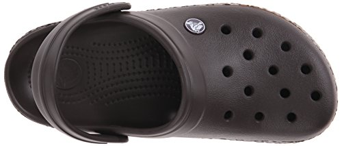 Crocs Crocband Animal Print, Sabots - Mixte adulte Marron (Espresso/Gold)