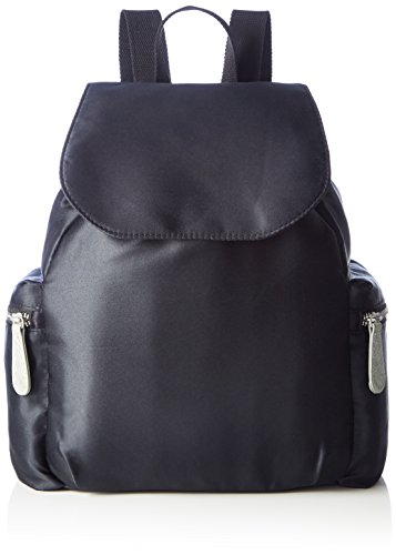 s.Oliver Damen City Rucksack Daypack Backpack 39.704.94.5800,Schwarz,36x14x24 cm (B x H x T)