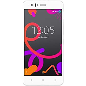 BQ Aquaris M5 - Smartphone de 5.0 pulgadas (4G, Wi-Fi, Bluetooth 4.0, Qualcomm Snapdragon 615 Octa Core A53 1,5 GHz, 16 GB de memoria interna, 3 GB de ...