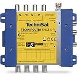 TechniSat TECHNIROUTER 5/1 x 8 G-R kaskadierbar digitale Einkabellösung für 8 Teilnehmer (8 Signale über ein Kabel, Unicable)