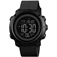 SKMEI Digital Men's Watch (Black Dial)