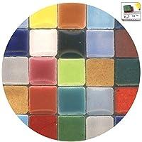 500 St/ück Mosaik-Minis 5x5x3mm steingrau RC04
