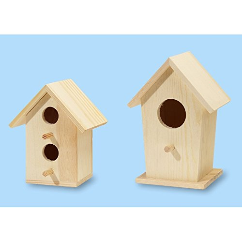 Vogelhäuschen 13,5 x 9,5 x 7,5 cm