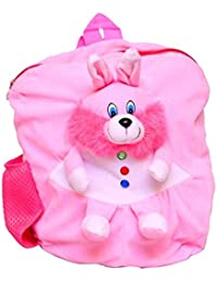 Jrp Mart Light Pink Cute And Attractive Soft School Back Pack For Kids