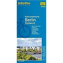 Berlin Südwest (RW-B03) Berlin-Zehlendorf - Jüterbog, Luckenwalde, Ludwigsfelde, Potsdam, Sperenberg, Treuenbrietzen, Maßstab 1:60.000, wetter- und reißfest, GPS-tauglich mit UTM-Netz