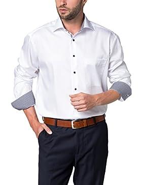 ETERNA Langarm Hemd COMFORT FIT Barré strukturiert