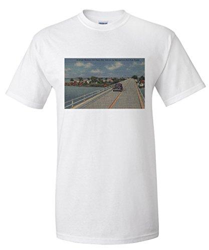 key-west-fl-highway-between-mainland-and-keys-premium-t-shirt