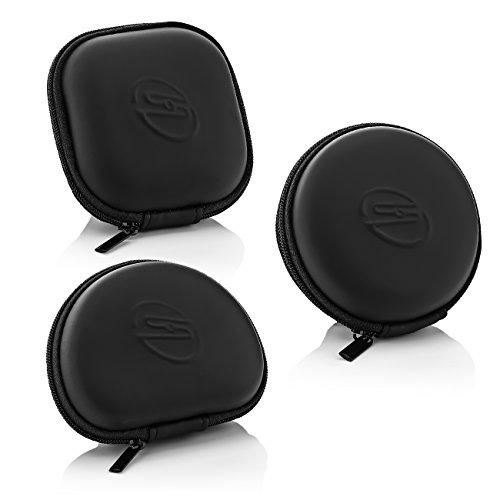 deleyCON SOUNDSTERS Universelle Kopfhörer-Tasche - Case für In-Ear Ohrhörer - Robuster Schutz für Unterwegs - integriertes Fach - für unzählige Kopfhörer passend - 7