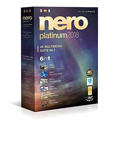 Nero Platinum 2018 Suite - Partenaire Officiel de NERO (Téléchargement direct)