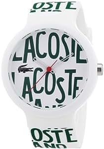 Lacoste - 2020055 - Montre Mixte - Quartz Analogique - Bracelet Silicone Multicolore