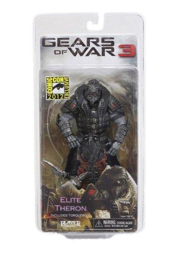 NECA Gears of War 3Elite Theron Onyx Version 17,8cm Exclusive Comic-Con 2012articulé Action Figure