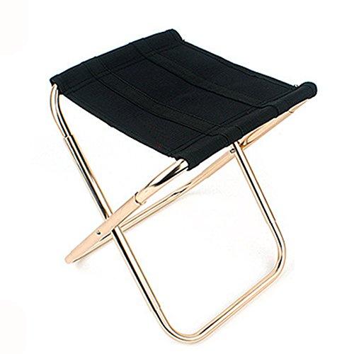 SODIAL Hohe Qualitaet Angeln Stuhl Sitz Klapp Outdoor Camping Hocker fuer Picknick BBQ Strand