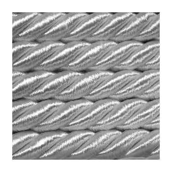 Satinschnur Dekokordel Lieferzeit* 5,0 m Satinkordel Ø 8 mm Silber ab 0,99 €//m