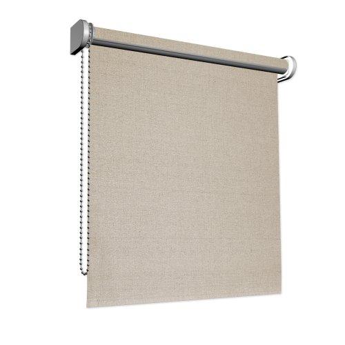 Victoria m tenda a rullo filtrante 125 x 175 cm in color lino