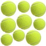 DOBO Set Palline da Tennis 3 9 21 30 36 Pezzi Gialle Confezione Sport racchettoni Allenamento Gioco Spiaggia Aperto Professionali Svago Esercizi Bambini Adulti (36 Palline - 36 Palline)