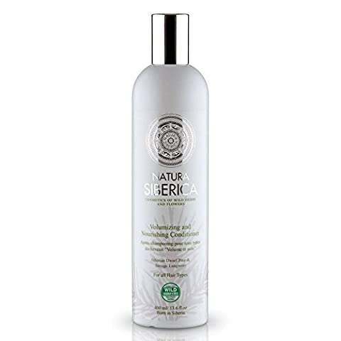 Natura Siberica Natural & Organic Conditioner Volumizing & Nourishing 400ml for All Hair Types