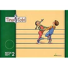 """Musikalische Früherziehung - Musikschulprogramm """"Tina & Tobi"""": Musikalische Früherziehung <i>Tina und Tobi</i>. Notenheft 2.Musikalische Früherziehung <i>Tina und Tobi</i>.Zubehör"""