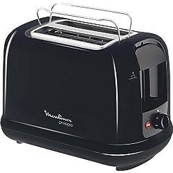 Moulinex - LT1618 - Grille-pains, 850 watts, Noir