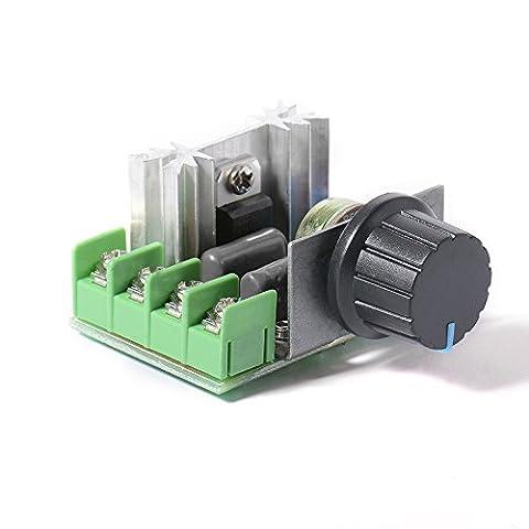 XCSOURCE 2000W Elektronischer SCR Spannungsregler Dimmer Motorgeschwindigkeit Temperaturregler AC110-220V Heißer Verkauf TE478