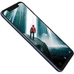 ZTE 126574801010 Axon 9 Pro Smartphone avec écran AMOLED 128 Go Mémoire Interne et 6 Go de RAM, Appareil Photo Avant 20 Mpx, Double SIM, NFC, IP68, Android 8.1 Bleu