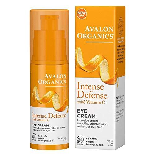 Avalon Organics Intense Defense with Vitamin C Facial Serum, 1 Ounce