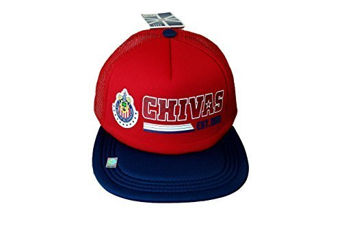 chivas-de-guadalajara-soccer-authentic-official-licensed-soccer-trucker-cap-one-size-005-by-rhinox