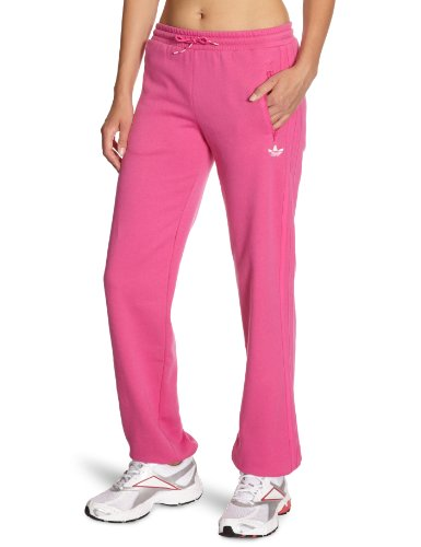 adidas Damen Trainingshose Basic Fleece Cuffed, intense pink f11, 44, O57546