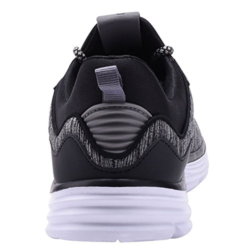 COODO , Herren Laufschuhe CD9003:BLACK/WHITE (UK:5.5-11)