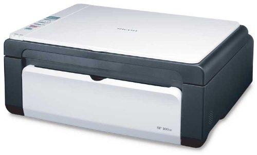 Ricoh - Aficio SP 100SU Multi-function Laser Printer (Black and White)