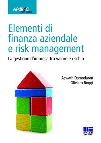 Elementi di finanza aziendale e risk management. La gestione d'impresa tra valore e rischio (Idee e strumenti)