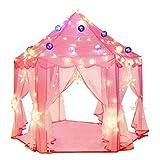 Flowing Pink Play Castle - Tente de Jeu pour Enfants, tentes de Jeu Princess Castle,...